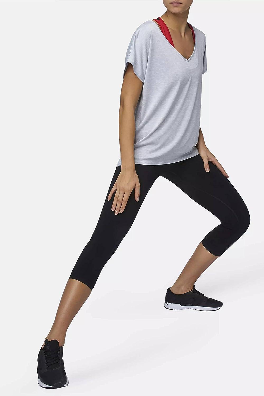 Luxueux et Doux Confortable Sundried T-Shirt Yoga et Gym Ample pour Femme par Le cr/éateur de v/êtements de Sports Ethnique Ample