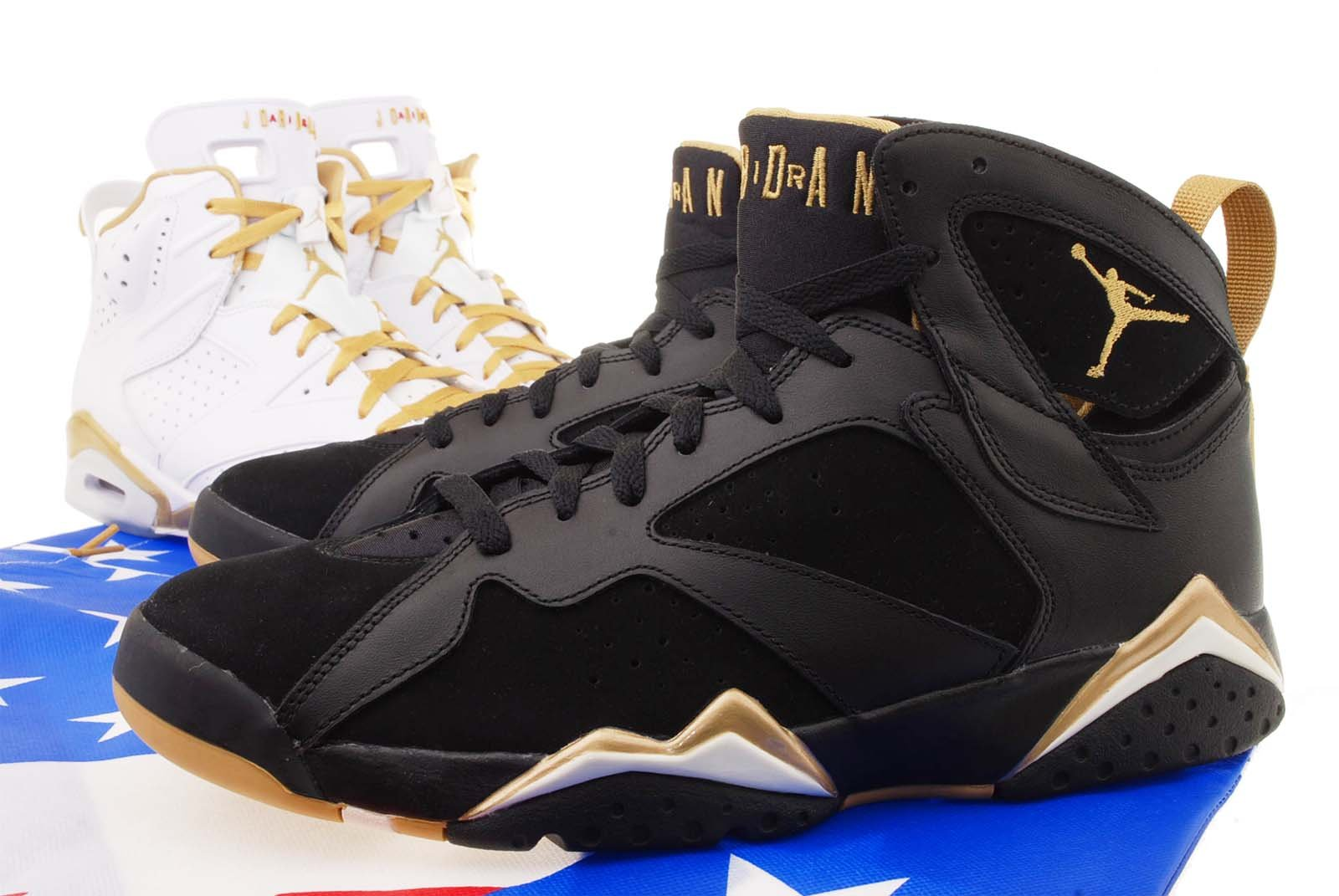 multiple colors ae3e2 b5489 Galleon - Nike Mens Air Jordan 6 Gold Medal Golden Moments Pack 535357-935,  11.5