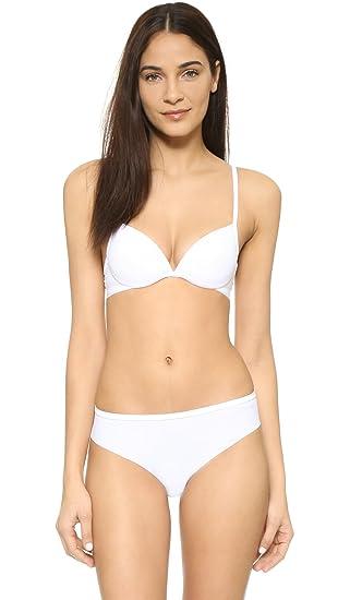 La perla - Invisible - Push Up Sujetador - Bianco Blanco Bianco: Amazon.es: Ropa y accesorios