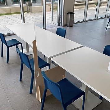 Mampara Metacrilato Aula | Fácil Instalación | Separación de ...