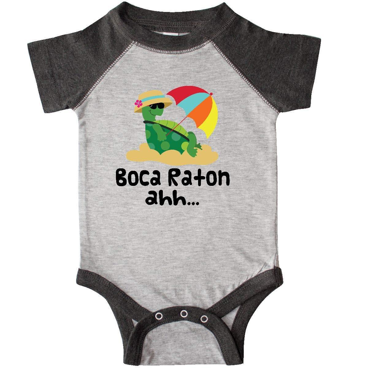 Amazon.com: inktastic Boca Raton Florida Infant Creeper ...