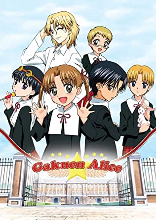 Amazon com: Gakuen Alice: 5 DVD Lightbox Collection: Kana
