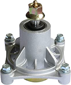 "KOOTANS Mower Spindle Assembly for AYP 174356 174358 Husqvarna 532174356 587125201 532174358 GTH2548 GT2248 GTH2248 YTH1848XP YTH2448 YTH2748, Fits AYP 48"" Decks 2002 & Newer (with Bolts, Zerk)"