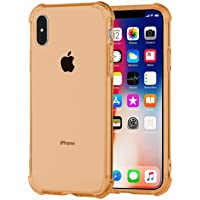 Deals on Speira Transparent Case w/Reinforced Corners For iPhone Xs