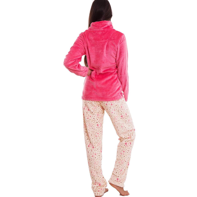Pigiama donna kawaii maglia felpa pantaloni ecopelliccia idea regalo nuovo C012