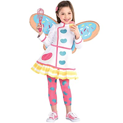 Party City Butterbean Halloween Costume for Toddler Girls, Butterbean's Café Includes Accessories: Clothing