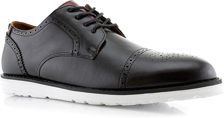 black sneaker dress shoes