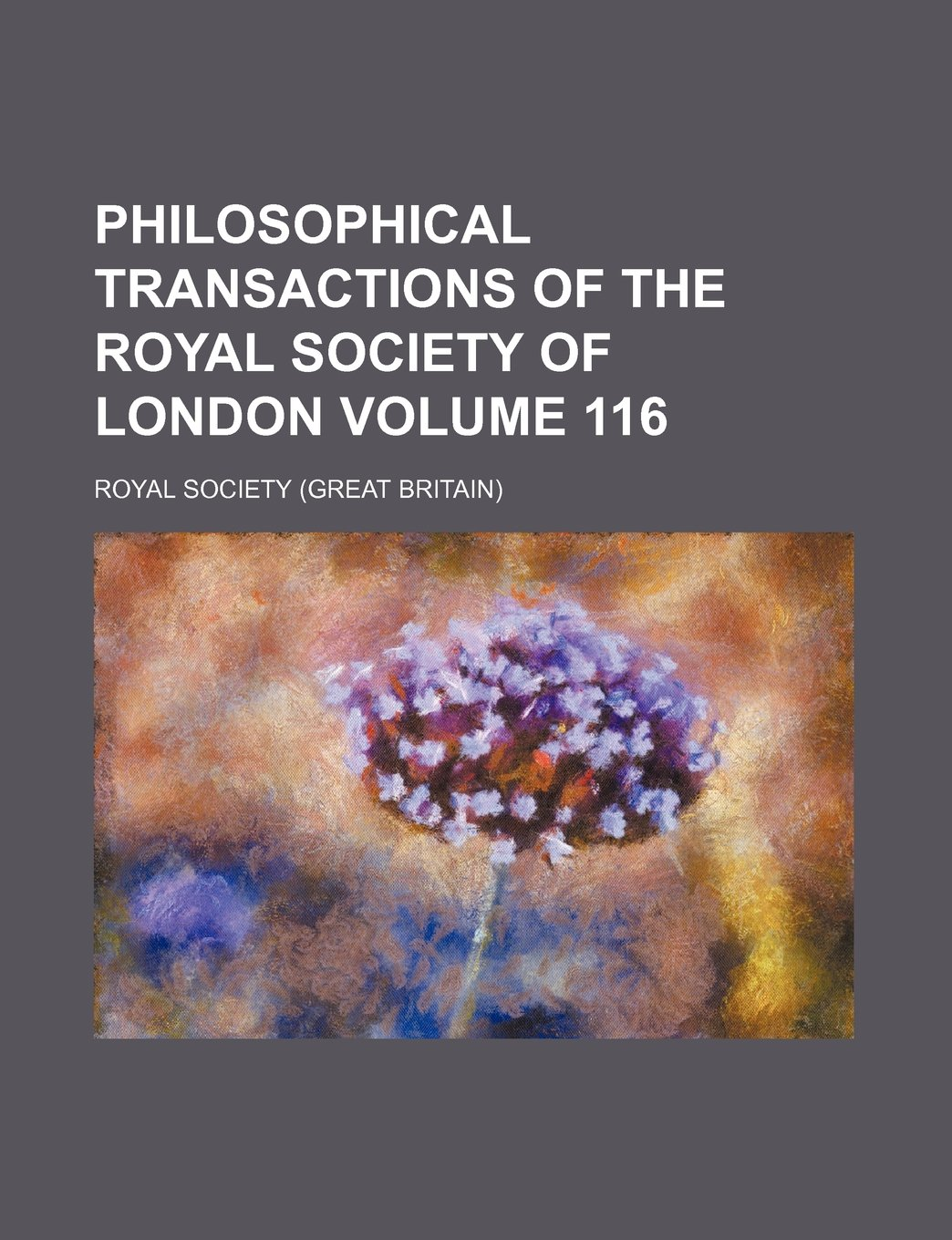 Download Philosophical transactions of the Royal Society of London Volume 116 ebook