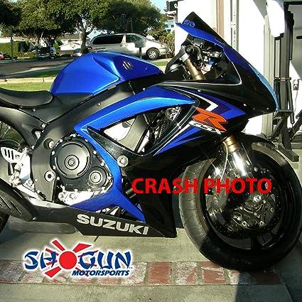 Shogun 2008 2009 2010 Suzuki GSXR600 GSXR 600 2008 2009 2010 GSXR750 GSXR 750 Carbon Fiber Frame Sliders 710-5449 MADE IN THE USA