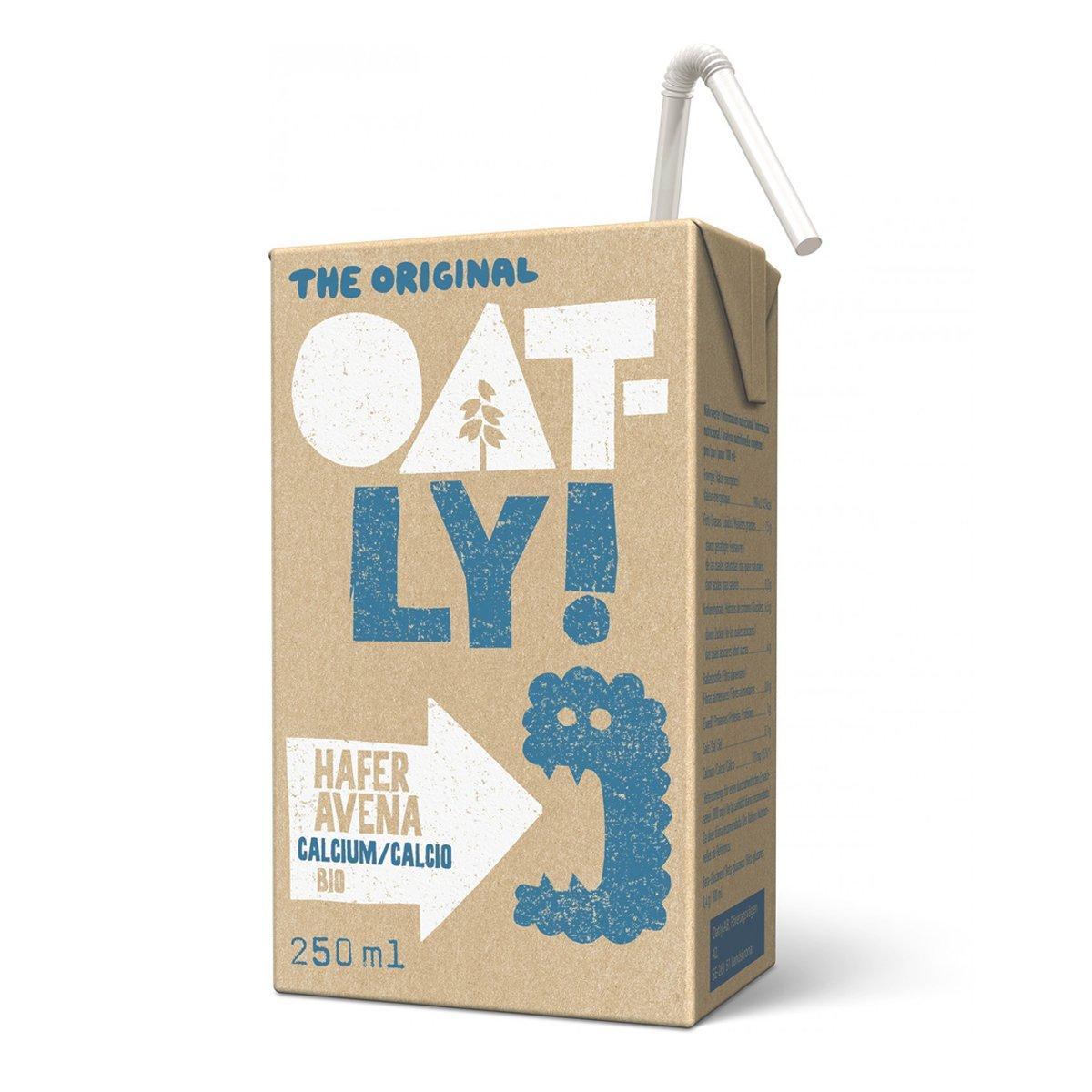 Oatly - Bebida de Avena Calcio Biológica - Pack de 18 (18 x 250 mililitros): Amazon.es: Alimentación y bebidas