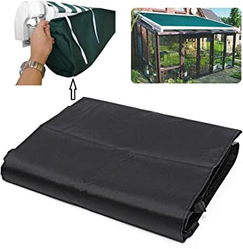 Green Protective Awning Cover Storage Bag with String for Outdoor Garden Sun Protection Dustproof 5m // 16.40ft