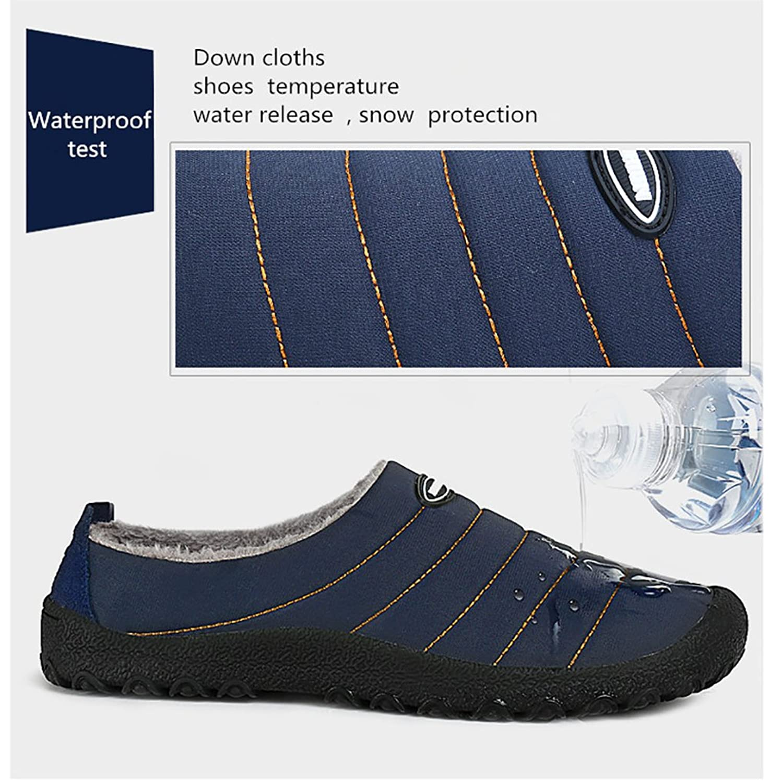 amazon com mens womens house slippers snow winter outdoor indoor
