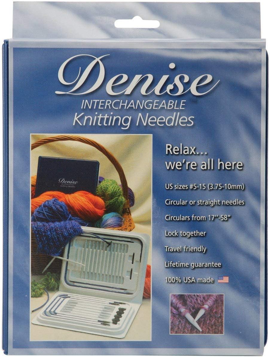 Denise Kit De Aguja De Crochet Intercambiable grises