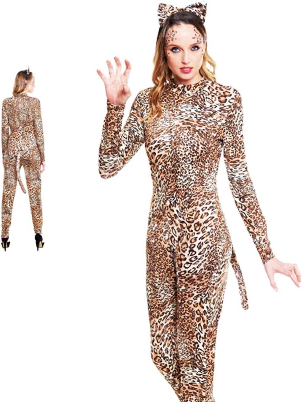 Partilandia Disfraz de Leopardo para Mujer Talla M: Amazon.es: Hogar