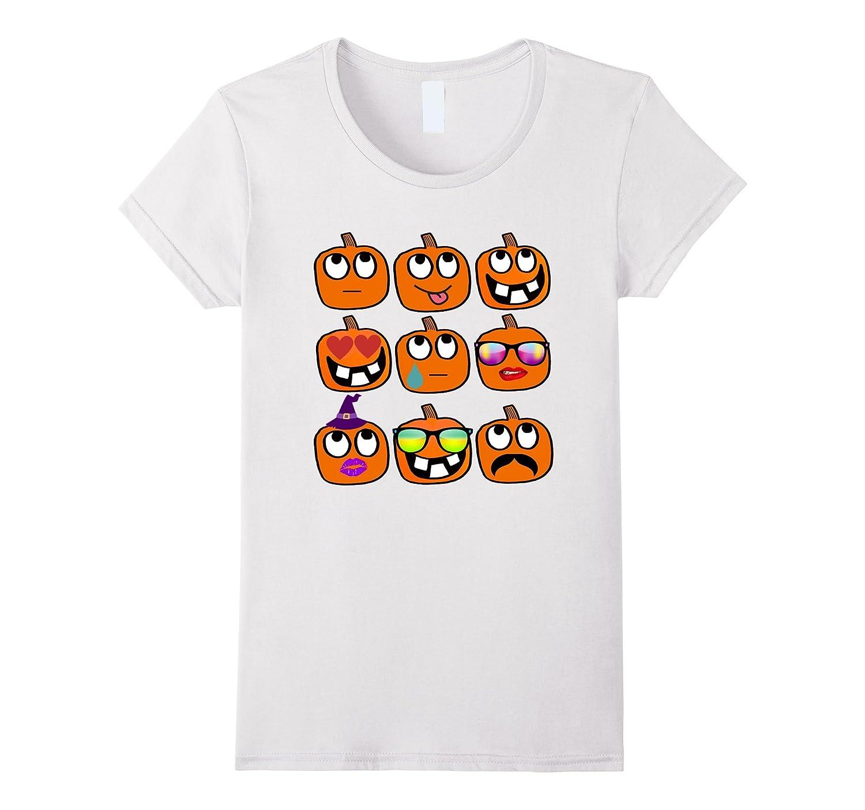 Pumpkin Emoji Shirt – Halloween Emoji Shirt – Pumpkin Shirt