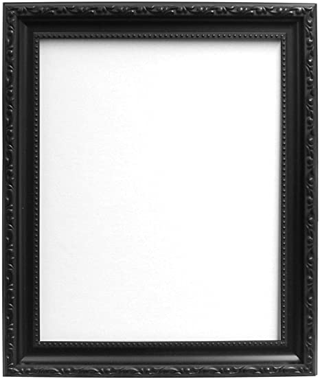 Frames By Post Shabby Chic Picture Photo Frame Black 40 X 30 Cm