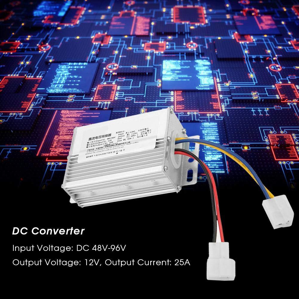 DC Converter Step-Down Power Supply Module 48V-96V to 12V Buck Converter