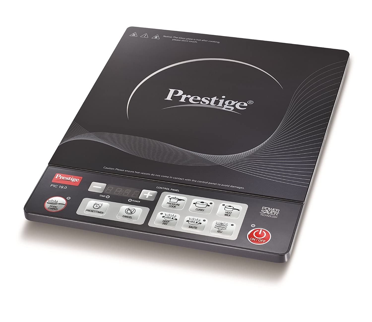 Captivating Buy Prestige PIC 19.0 1600 Watt Induction Cooktop With Push Button Online  At Low Prices In India   Amazon.in