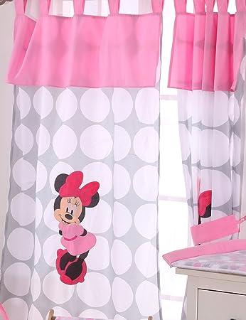 Disney Minnie Mouse Polka Dots 2 Vorhänge: Amazon.de: Baby