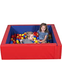 Children's Factory Corral Ball Pool Foam Ball Pit Playroom Furniture Toddler Playset for Kids (Balls Not Included)