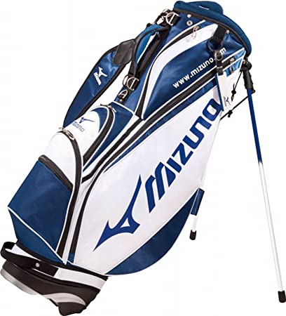 c8d54f0dcafb Amazon.com : Mizuno Golf Japan Tour Style 077 Cart Caddy Bag WH/NV : Sports  & Outdoors
