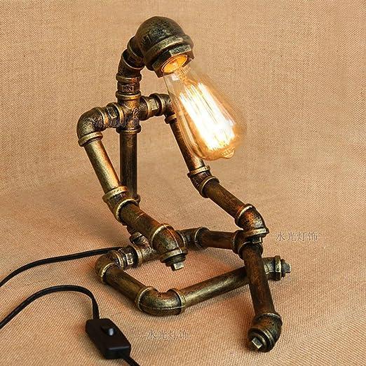 Neixy Tubi Idraulici Industriali In Metallo Lampade