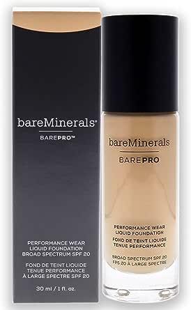 bareMinerals Barepro Performance Wear Liquid Foundation SPF 20 - # 12 Warm Natural, 30 ml