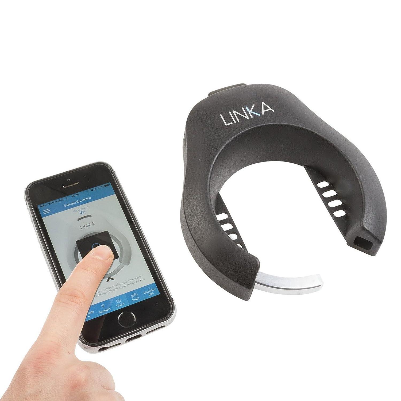 Linka Blautooth Fahrradschloss mit Manipulationsalarm (für iPhone und Android)