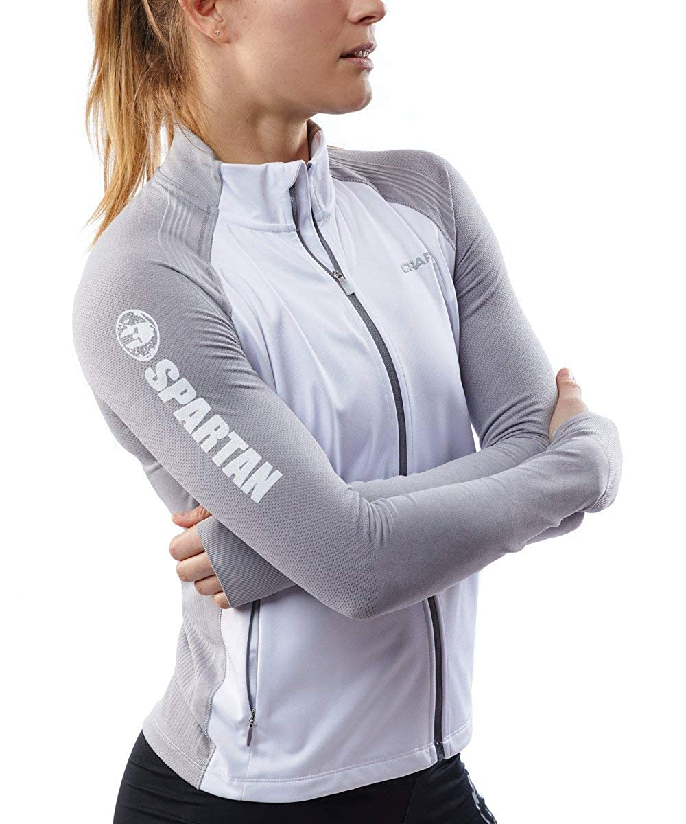Spartan Race by Craft Urban Run Fuseknit Jacket Womens