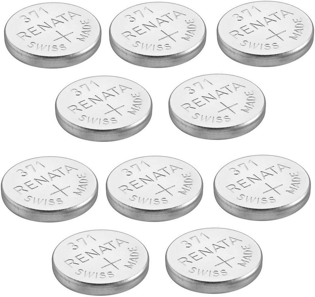 Renata Pack Of 2 Watch Batteries Swiss Made Silver Elektronik