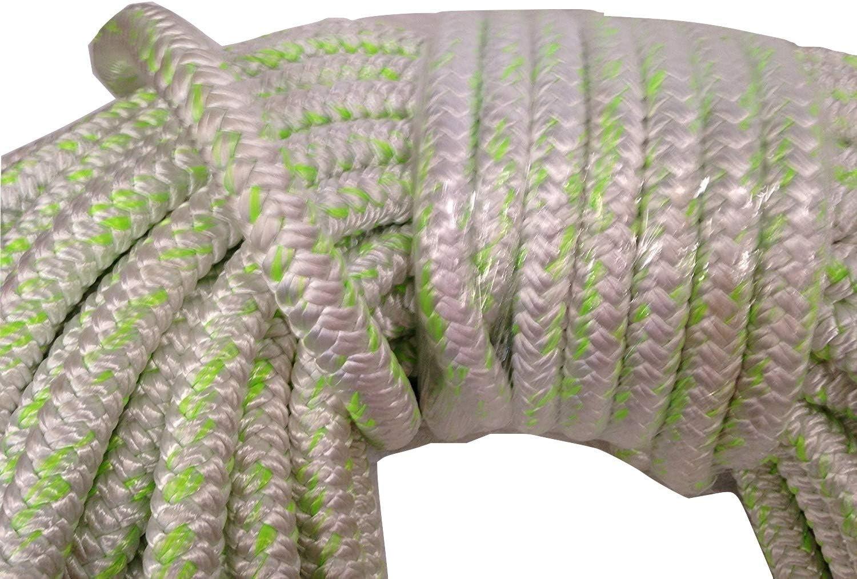 "All Gear Husky Bull Rope 5//8/"" Double Braid Arborist Bull Rope Multiple Lengths"