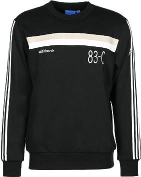 adidas 83-C Crew Sudadera, Hombre, Negro, XS: Amazon.es: Deportes y aire libre