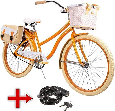 Huffy - Marco de Bicicleta para Mujer (66 cm), Color Azul: Amazon ...