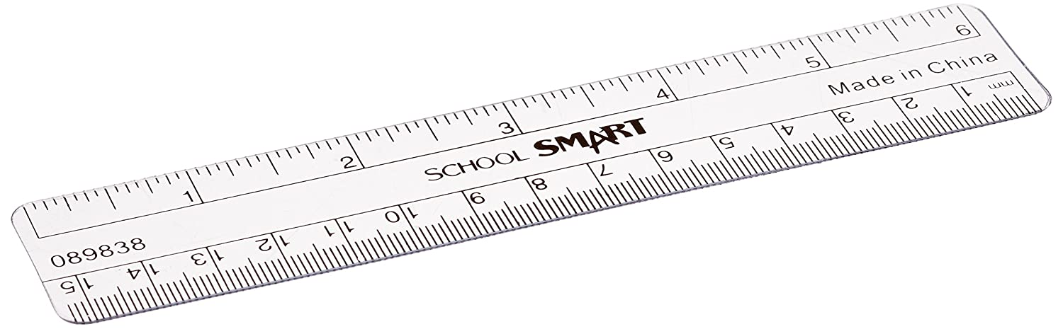 amazon school smart plastic ruler flexible 6 in l clear Ultimate 4 X 4 amazon school smart plastic ruler flexible 6 in l clear office and school rulers office products