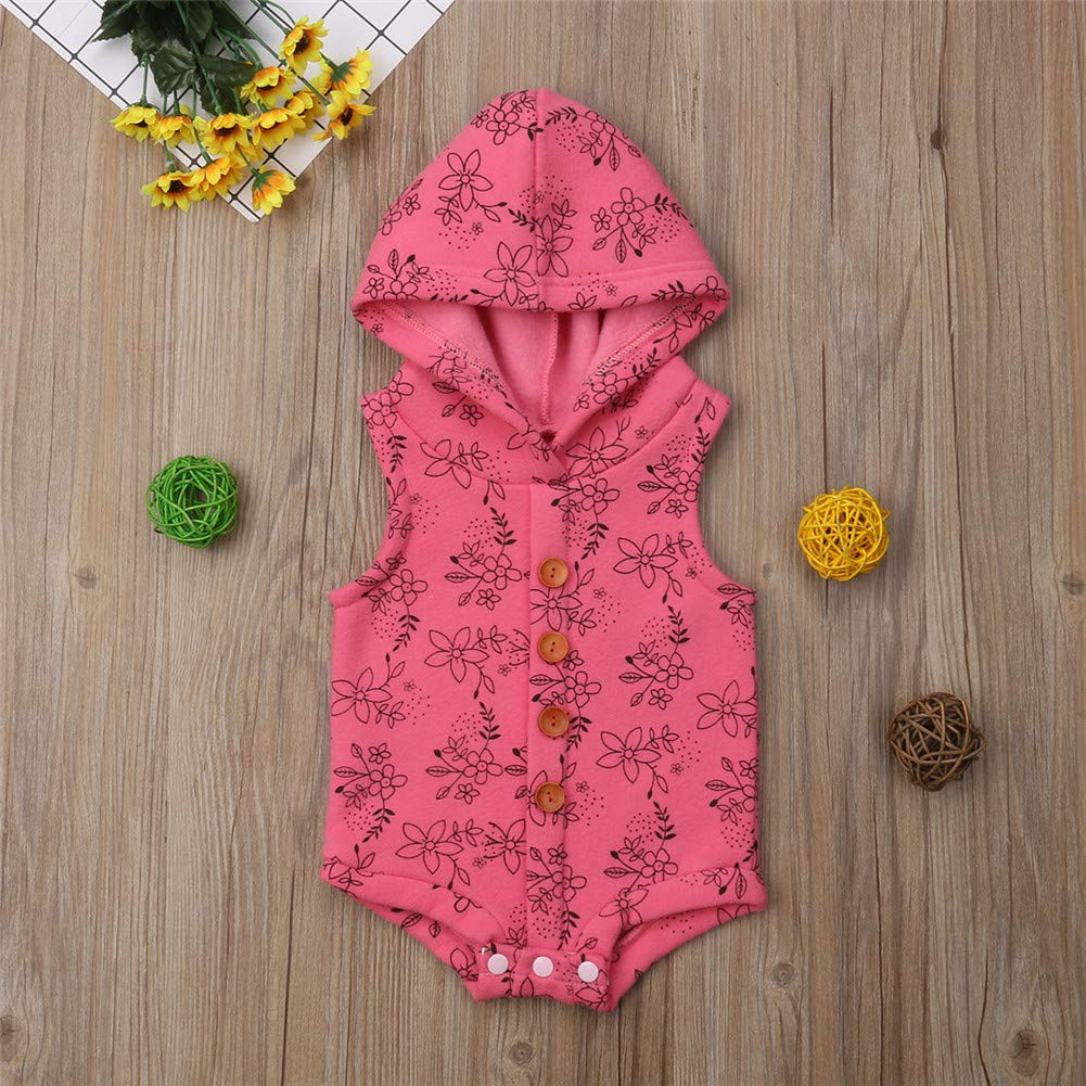 Rtnnsbbfcm Infant Toddler Baby Girl Dinosaur Jacket Coat Kids Fall Winter Zipper Vest Waistcoat with Hat Outfit Clothes