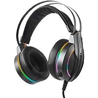 Rampage RM-K6 STARK Siyah USB 7,1 Version RGB Ledli Gaming Oyuncu Mikrofonlu Kulaklık