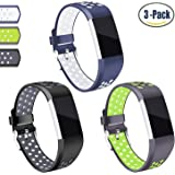 for Charge 2 Band, Hotodeal Classic Soft TPU Adjustable Bands Fitness Sport Strap for Charge 2, Small Large