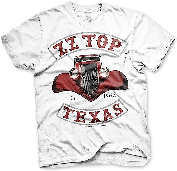 ZZ Top Music Band T-Shirt Music Men New AFTERBURNER Official Black Cotton Tee