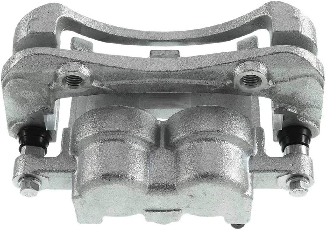 A-Premium Brake Caliper with Bracket Compatible with Chevrolet Colorado GMC Canyon Pontiac G6 Isuzu i-280 i-290 i-350 i-370 2004-2008 Front Right