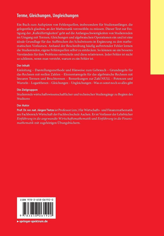 Terme, Gleichungen, Ungleichungen: Rechenregeln begründen ...