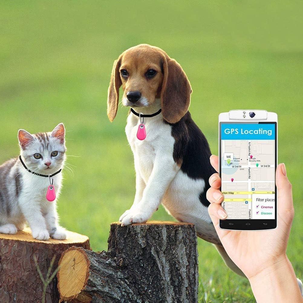 JiuRong Buscador de Llaves 1pcs Billetera Anti Mascotas con Gota de Agua rastreador Anti perdido localizador de art/ículos Perdidos