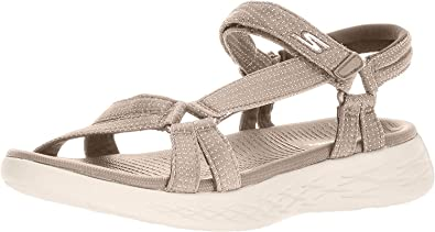 Ártico Generosidad Imitación  Amazon.com: Skechers On-The-go 600-Brilliancy - Sandalias deportivas para  mujer: Skechers: Shoes
