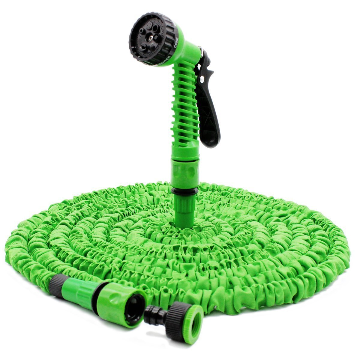 Garden Hose,WONFAST No Kink Lightweight Magic Expandable Flexible Water Hose Pipe with Professional Spray Nozzle for Garden Watering Car Washing (50FT/15M)