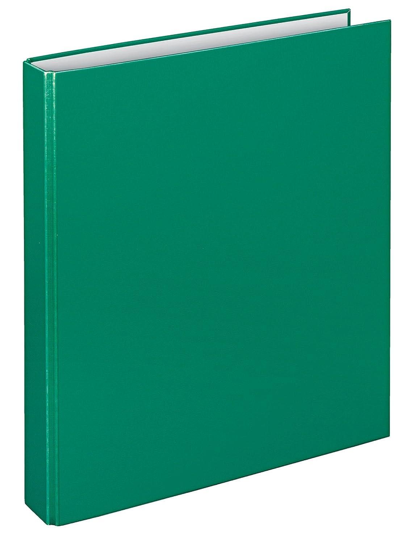 4 anelli a D colore: Verde rivestito in PP Veloflex 1143040 Raccoglitore ad anelli Basic A4 livello di riempimento 25 mm