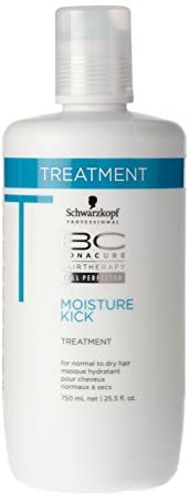 Schwarzkopf Schwarzkopf Bc Moisture Kick Treatment for Normal To Dry Hair , 750 Ml 25.5 Ounce, 25.5 Ounce