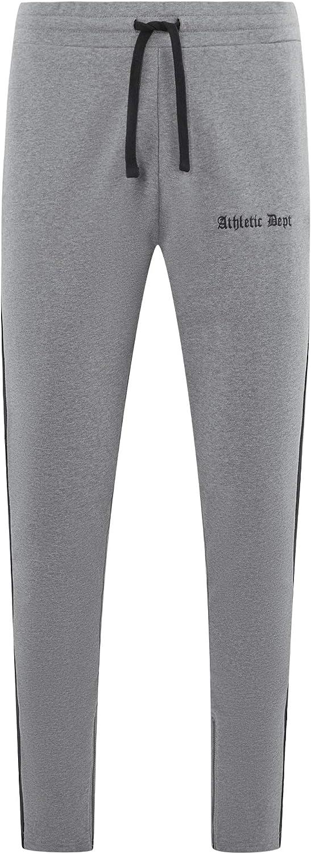 oodji Ultra Uomo Pantaloni in Maglia con Coulisse