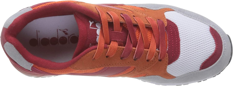 7 UK Arancio Jessica//Rosso Tango C7958 Diadora Unisex Adults/' N902 Speckled Trainers Arancione
