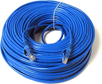 35 cables of 10ft Cat5e 350mhz Copper wire Ethernet Network Patch Cable LL43774 For use with Computers or Hubs or Switches or Patch Panels Red