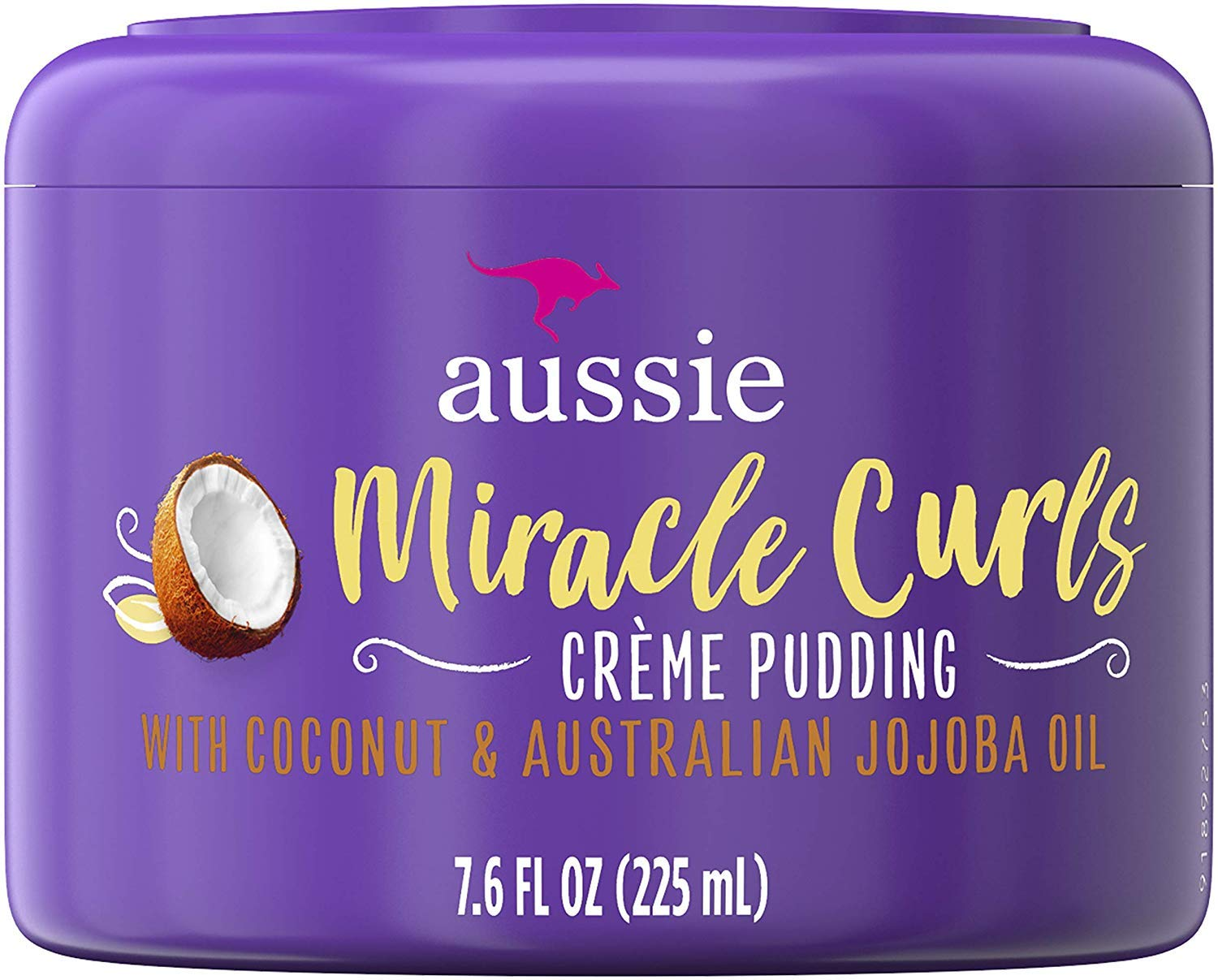 Aussie Creme Pudding Miracle Curls 7.6 Ounce Jar (225ml)