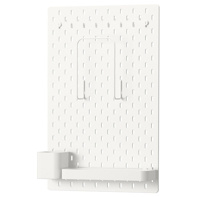 Skadis Combinació n de IKEA - Tablero, blanco 56x36 cm Ikeaa